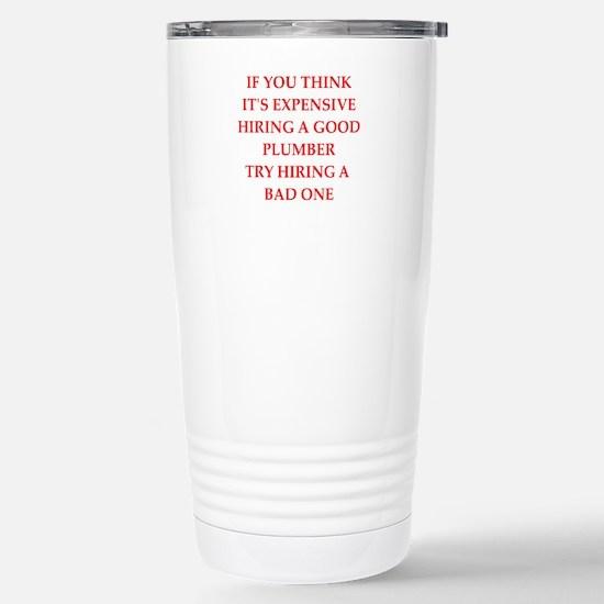 plumber Travel Mug