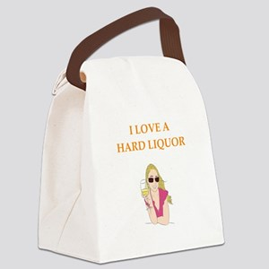 hard liquor Canvas Lunch Bag