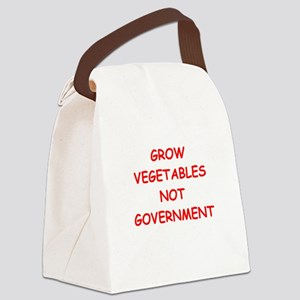 small government Canvas Lunch Bag