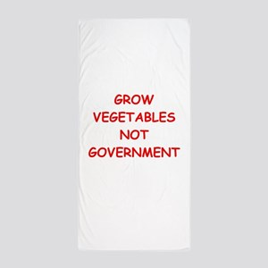 small government Beach Towel