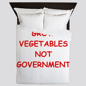 small government Queen Duvet