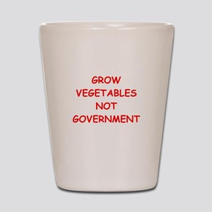 small government Shot Glass