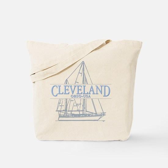 Cleveland sailing - Tote Bag