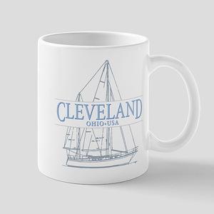 Cleveland sailing - Mug