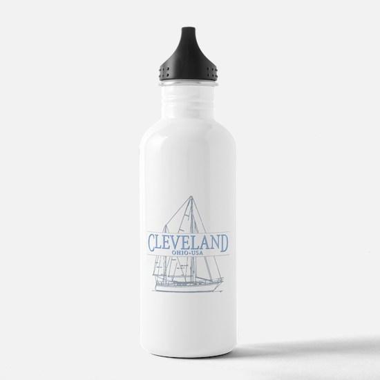 Cleveland sailing - Water Bottle