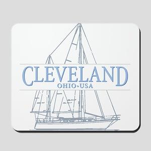 Cleveland sailing - Mousepad