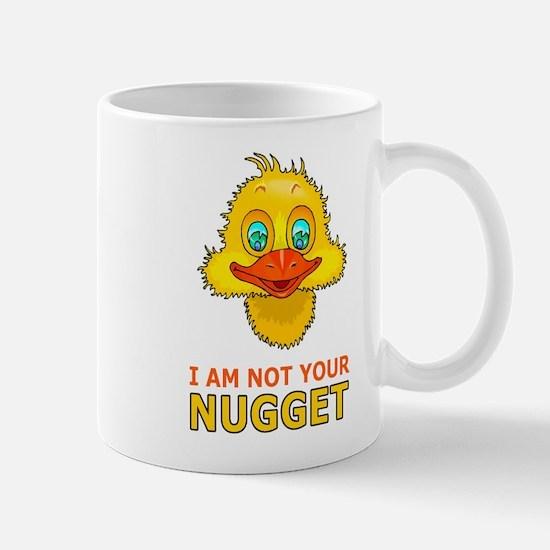 Cute I am not a nugget Mug