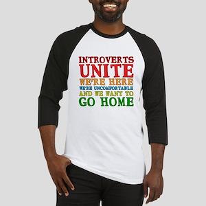 Introverts Unite Baseball Jersey