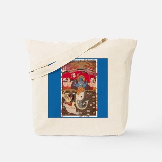 MATSYA - Vishnu in Fish Form Tote Bag