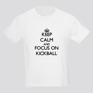 Keep Calm and focus on Kickball T-Shirt