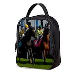 Horse Racing Neoprene Lunch Bag