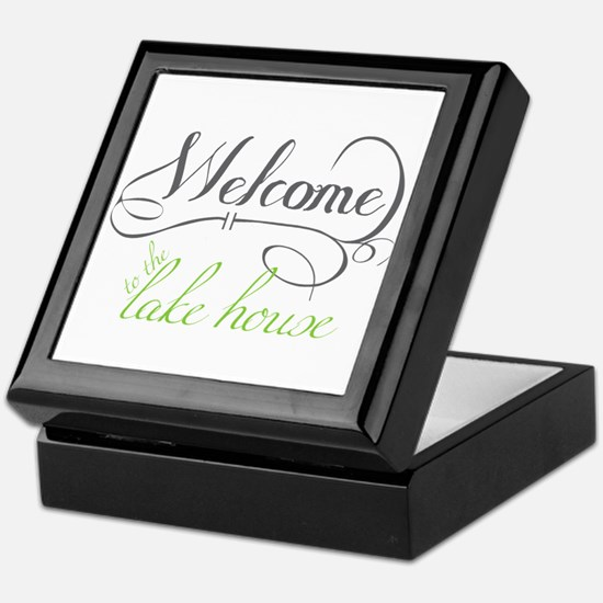Welcome To The Lake House Keepsake Box