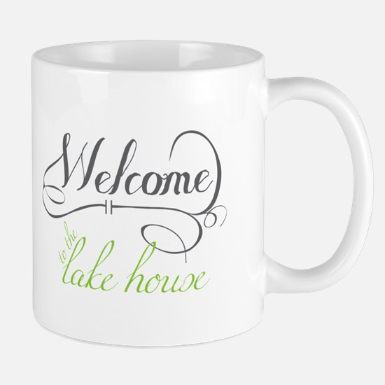 Welcome To The Lake House Mugs