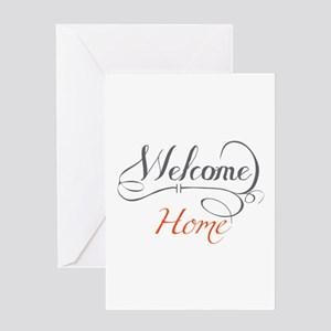 Welcome home greeting cards cafepress welcome home greeting cards m4hsunfo