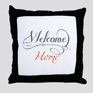Welcome Home Throw Pillow