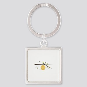 Beehive Keychains