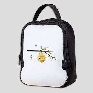 Beehive Neoprene Lunch Bag