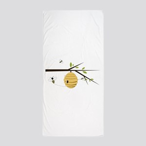 Beehive Beach Towel