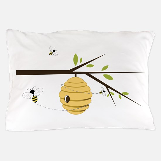 Beehive Pillow Case