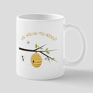 Will You Be My Honey? Mugs