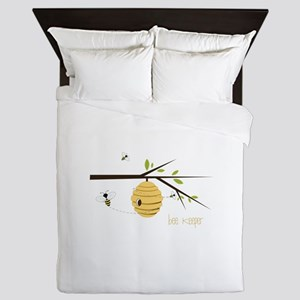 Bee Keeper Queen Duvet