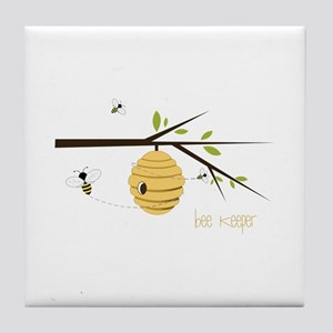 Bee Keeper Tile Coaster