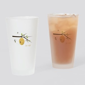 Bee Keeper Drinking Glass