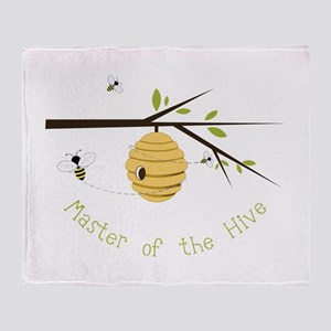 Master Of The Hive Throw Blanket