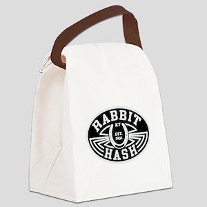 Rabbit Hash Canvas Lunch Bag