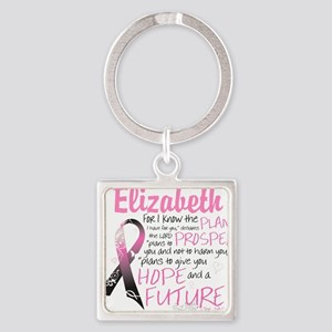 Breast Cancer Survivor Personalize Keychains