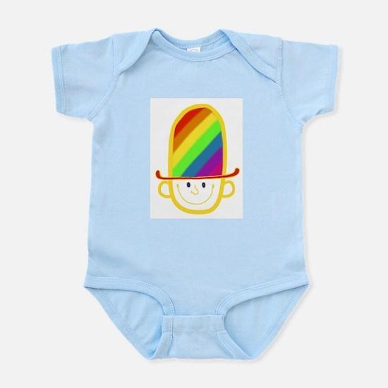 Rainbow hat Body Suit