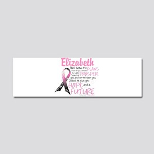Breast Cancer Survivor Personalize Car Magnet 10 x
