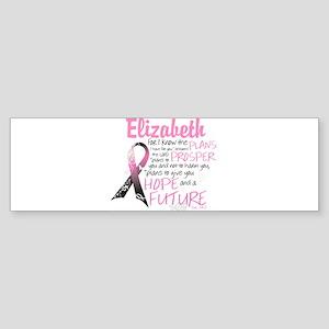 Breast Cancer Survivor Personalize Bumper Sticker