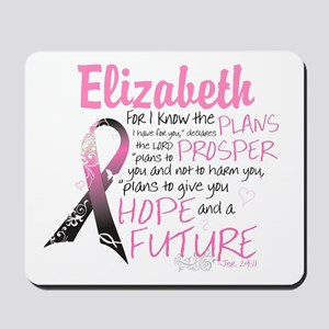 Breast Cancer Survivor Personalize Mousepad