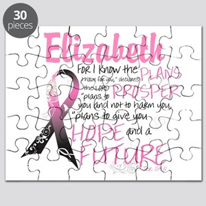 Breast Cancer Survivor Personalize Puzzle