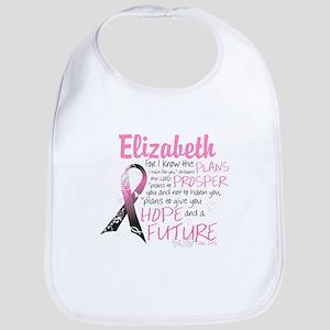 Breast Cancer Survivor Personalize Baby Bib