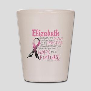 Breast Cancer Survivor Personalize Shot Glass