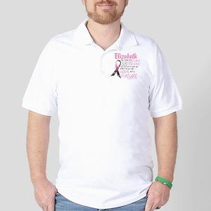 Breast Cancer Survivor Personalize Golf Shirt