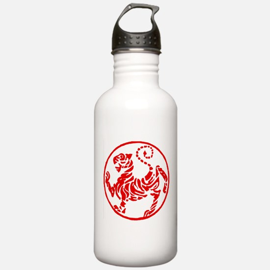 Shotokan Red Tiger Water Bottle