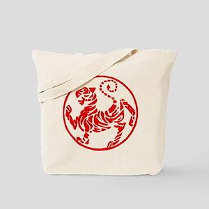 Shotokan Red Tiger Tote Bag