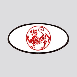 Shotokan Red Tiger Patches