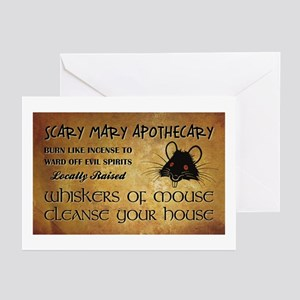 MOUSE WHISKERS Greeting Cards (Pk of 20)