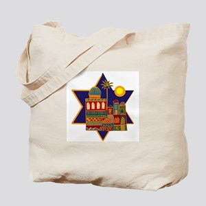 JEWISH STAR_ISRAEL Tote Bag