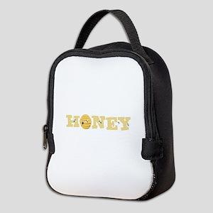 Honey Bees Neoprene Lunch Bag
