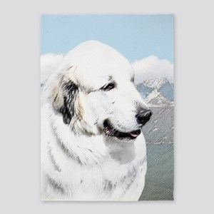 Great Pyrenees 5'x7'Area Rug