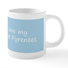 Great Pyrenees 20 oz Ceramic Mega Mug