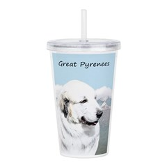 Great Pyrenees Acrylic Double-wall Tumbler