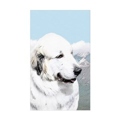 Great Pyrenees Sticker (Rectangle 10 pk)