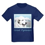 Great Pyrenees Kids Dark T-Shirt