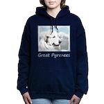 Great Pyrenees Women's Hooded Sweatshirt